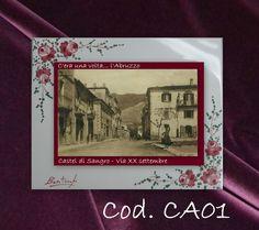 COLLEZIONE C era una volta l  ABRUZZO Castel di S. Ceramica maiolicata BONTEMPO