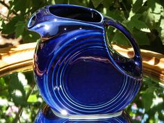 Vintage Homer Laughlin Large Pitcher Fiesta by BonAppetitAntique, $44.00