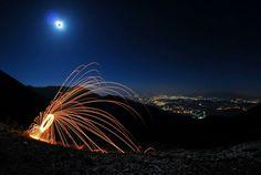 Campocatino #Ciociaria #steelwoolphotography #Nikon #Samyang #8mm #fisheye #RiccardoCuppini