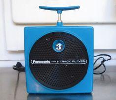 Vintage Blue Panasonic RQ 830S Dynamite Plunger TNT 8-Track Player  Works