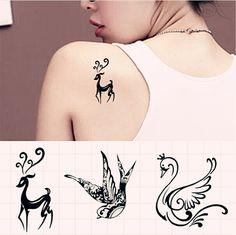 797bdb4844a26 cute Duck Tattoos, Fake Tattoos, Animal Tattoos, Wrist Tattoos, Tatoos,  Temporary