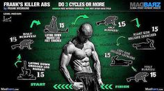 « Fitness Tip! Great Routine For Abs Definition. Daily Routine Gets You Results. Killer Abs by @frank_medrano ☆ Fitness Mind Motivation ☆ Mind Over Body… »
