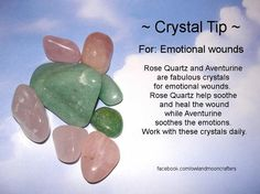 ✯..Crystal Tip: For Emotional Wounds✯