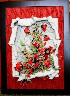 Картины из кожи Андрея Коробейникова.4418