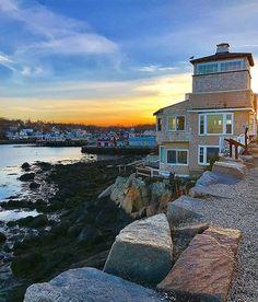 Beautiful shot from Rockport, Massachusetts captured by @stillness_of_remembering #BeautifulMassachusetts