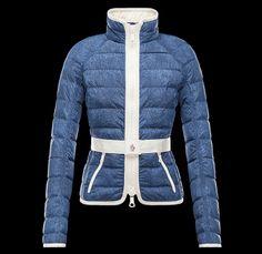 47efaea4da82 Moncler Grenoble 2014 Spring Summer Made in Denim Finds - Womens Lilla  Lightweight Downproof Nylon Jacket