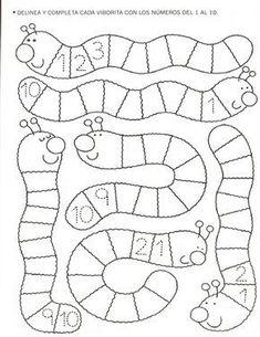 Zahlenwürmer