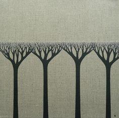 Whispering Trees 4 by natasha newton | the blackbird sings