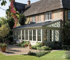 Love this for enclosing the patio!  Sun Room/Conservatory