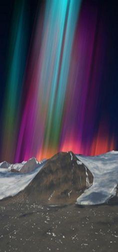 ☆☽ Ꭿմɽσɽą ᙖσɽҽąℓᎥʂ & Ƭɦҽ ♑Ꭵɠɦ৳ Ꮥƙƴ ☾☆ ~ Atmospheric Optics Lenticular, Aurora Australia - by Megan Jenkinson