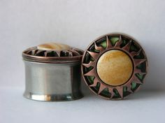 Sun Plugs 5/8 7/8 Inch 16mm to 22mm by arksendeavors on Etsy, $30.00