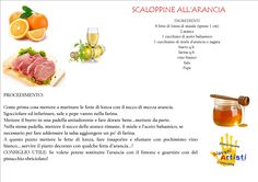 Scaloppine all'arancia