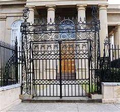 Gates of St. Philips Episcopal Church, Charleston