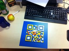 QR Codes ads example