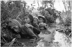 The civilians of Vietnam did not have it easy during the decades that the Vietnam war went on. The high death toll was not just due to violent causes. Many people died of starvation and illnesses.