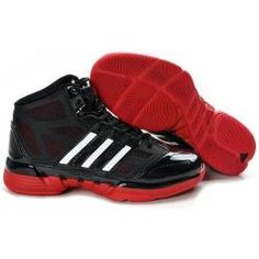 a887d4d41738 adidas Stupidly Light basketball black white-red shoes