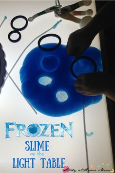 Frozen Slime on the Light Table: A Reggio Provocation