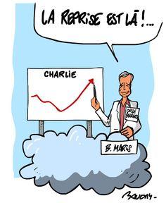 Magnifique hommage à Bernard Maris, économiste humaniste, par @hervebaudry #CharlieHebdo
