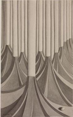 Kay Sage - 1943 - Untitled
