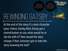I made a set of 60 writing prompts about The Great Gatsby. These are a few (well, a few more) of those. Teaching Literature, Teaching History, Teaching Writing, Teaching Strategies, Teaching Tips, Writing Prompts, Teaching Plan, Education English, Teaching English