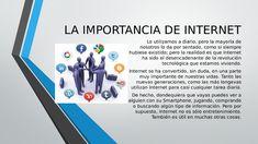 importancia del internet - Buscar con Google Internet, Google