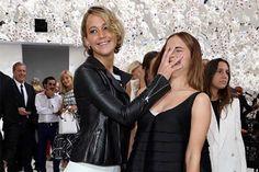 Jennifer Lawrence Face-Palms Emma Watson at Paris Fashion Week
