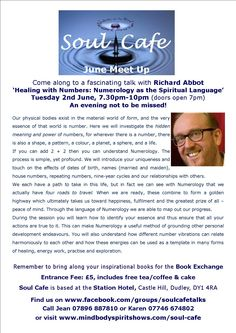 'Healing With Numbers: Numerology as the Spiritual Language' with Richard Abbot