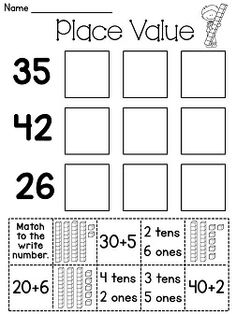 1000 images about math place value on pinterest place values place value games and tens and. Black Bedroom Furniture Sets. Home Design Ideas
