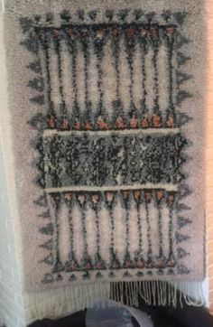 Rya Rug, Wool Rug, Textiles, Art Textile, Make Your Own, How To Make, Scandinavian Home, Rug Making, Bohemian Rug