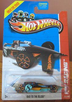 Hot Wheels 2013 Regular Treasure Hunt Bad To The Blade VHTF