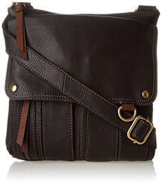 Fossil Morgan Traveler Cross Body Bag, Black, One Size