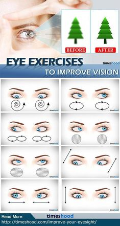How to Improve Eyesight Naturally: 7 Eyes Exercises (with pictures) how to improve eye vision without glasses? Check out these 7 Eyes Exercises to Improve Eyesight Naturally. Natural Remedies For Anxiety, Natural Cough Remedies, Cold Home Remedies, Natural Cures, Natural Health, Homeopathic Remedies, Health Remedies, Best Eczema Treatment, At Home Workouts