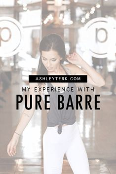 Ashley Terkeurst Hodges - My Experience with Pure Barre - Women's Sports Wear - Why Try Pure Barre Barre Workouts, Easy Workouts, At Home Workouts, Workout Classes, Workout Routines, Workout Ideas, Fitness Workouts, Why Try, First Class