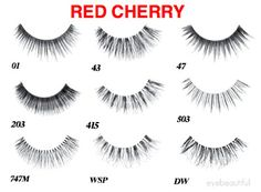 The best of Red Cherry Lashes