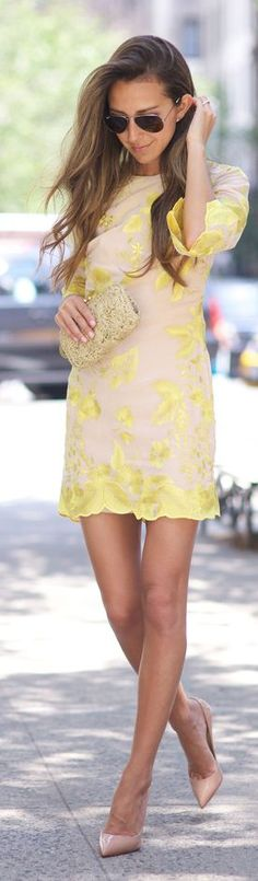 Sun Flower Little Dress by Something Navy