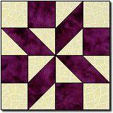 Shooting Star II quilt block
