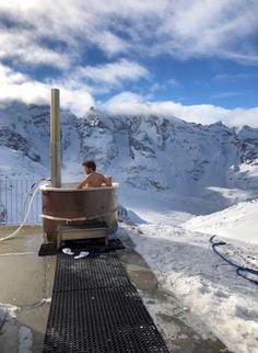 Diavolezza: idromassaggio a 3000 metri
