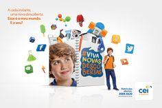 Cei Mirassol   Descobertas ( Impressos ) - Criola Propaganda Art Direction, Campaign, Identity