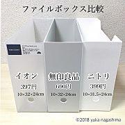 My Shelf/無印良品/収納/ファイルボックス/書類整理/書類収納のインテリア実例 - 2016-10-28 13:49:36 | RoomClip (ルームクリップ)