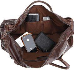 Handmade Antique Leather Travel Bag