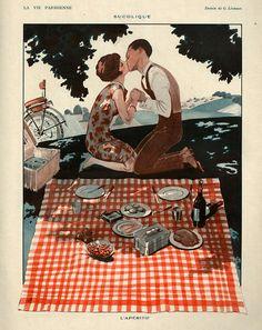1920s France La Vie Parisienne Magazine Drawing http://www.pinterest.com/adisavoiaditrev/