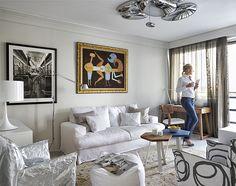 Izgalmasan kialakított lakás a Duna-parton - Otthon - lakaskultura.hu