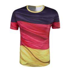 FLAG T SHIRT - WORLD CUP RUSSIA 2018 - RUSSIA FRANCE BRAZIL GERMANY AUSTRALIA - 3D PRINTING