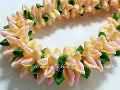 Hawaiian Ribbon Leis *Moani Craft*の画像|エキサイトブログ (blog)