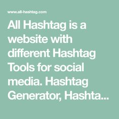 Hashtags For Likes, How To Use Hashtags, Food Hashtags, Popular Hashtags, Marketing And Advertising, Online Marketing, Social Media Marketing, Hashtag Generator, Socialism