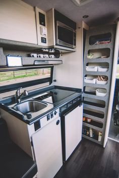 This custom motorhome has space for 6 people Sportsmobile camper van can sleep a family of 6 - Curbed,