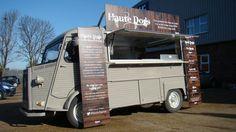 Citroen H Van 'Hvan' complete for Haute Dog Van - looks smart doesn't it! http://www.facebook.com/ajctrailers