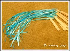 LDS Nursery Give said the Little Stream Ribbon Streamers