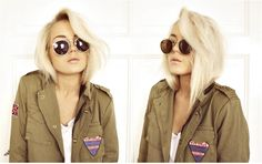 Basically want my hair cut like this, even though hers is just tucked...