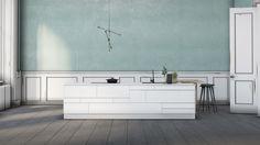Bricks-køkkenet består af små byggeklodser, du kan sammensætte, stort set som du vil. Tænkte det måske var noget for dig. Klik her og leg med tanken. Scandinavian Design, Minimalist Design, Double Vanity, Brick, Cabinet, Interior Design, Kitchen Inspiration, Storage, Furniture